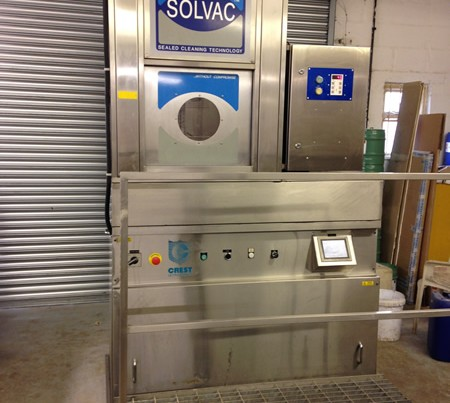 Latest Solvent Cleaning Technology